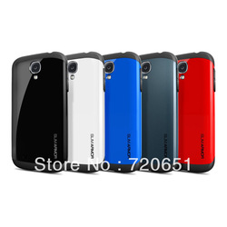 Latest style SLIM ARMOR SPIGEN SGP case for Samsung galaxy s4 SIV i9500 free shipping 5pcslot(China (Mainland))