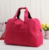 women Large capacity traveling bag waterproof  ladies nylon luggage  portable sports cross-body bags