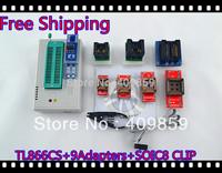 Free Ship NEW SOIC8&PLCC CLIP Hot Sale V6.0 TL866CS High speed  PIC USB BIOS MiniPro Universal Programmer+9Adapters+13143 chip