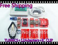 Free Shipping PLCC CLIP Hot V6.0 TL866CS High speed  PIC USB BIOS MiniPro Universal Programmer+13 Adapters+13143 chip