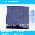 Free Shipping 6V3.8W 156mm*156mm PolyCrystalline Solar Panel High Efficiency Solar Panels PV Module A Grade Cell Phone Charger(China (Mainland))