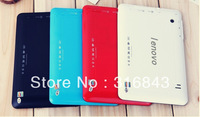 Free shipping In 2013 the new tablet Support 2 g + 3 g + WIFI SIM card slot Android 4.0 3G External  OTG SD Card DC Jack Russian