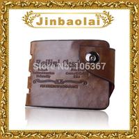 2015 New Famous Brand Bailini Wallets Men Genuine Leather Crazy Horse Leather Wallet Brand Wallet Dollars Purse For Small Size