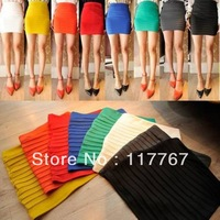 Women Lady 10 Candy Colors MINI SKIRT Slim Fit Seamless Stretch Tight Hotsale