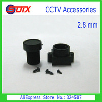 CCTV Camera Lens 2.8mm Lens + Plastic Lens Holder