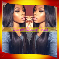 Hot Selling 100%Silky Straight Brazilian virgin remy lace front wig/glueless full lace wigs with bleached knots natural hairline