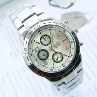 Gold/Silver/Black ROSRA Fashion Luxury Brand Business Clock Quartz Watch With Full Steel Strip Wristwatches for Men Watches