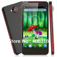 Free shipping! Star S5 Butterfly Android 4.2 MTK6589 Quad Core 5.0 Inch HD Screen 1G 4G 5.0MP Front Camera free leather case