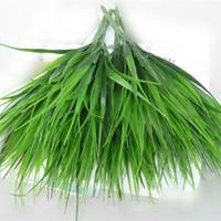 10x Brick Artificial Grass Plastic Grass Artificial Plants for Decoration Flower simulation Flowers