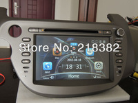 Touch Screen Car DVD Player with Navigation  for Honda Jazz Fit