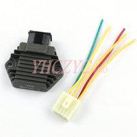 for Honda CB6002004-2006 CB500 VFR750 1990-1997 rectifier regulator with plug Free Shipping