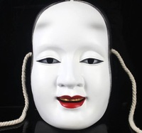 Resin Japanese Noh Buddhism Carnival Mask Halloween Party Kojiro Prajna Masquerade Masks Gifts