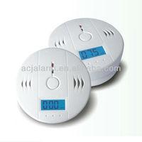 High sensitivity LCD display Carbon Monoxide detector alarm with bule screen