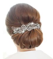 16cm*7cm New Arrival crystal wedding bridal hair comb fashion hairwear jewelry accessories