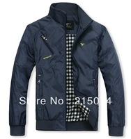 HOT!SEPTWOLVES 2013 new fashion clothing spring high quality Thin men's jacket  XL-XXXXL