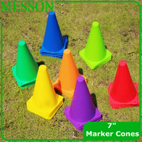 "MESSON Cintz 7"" Marker Cones  Course/Football & Soccer Track Cones  ( 10pcs /set)"
