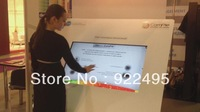 "Free Shipping  47"" IR touch screen panel/overlay, IR Multi touch frame with real 4 points touch foradvertising"