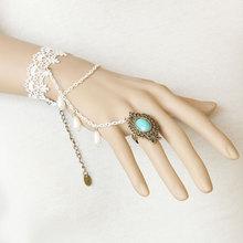 women bracelets Vintage gothic White lace Lace vintage bracelet birthday honey gift bride wedding accessories