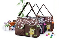 animal diaper bag mummy bag nappy bag  Zebra or giraffe  babyboom multifunctional fashion infanticipate bag  mother baby bag