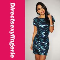2014 New Women Dress Sexy Glitter Open Back Sequin Dress the evening dress Party Dress Fashion OL Dress LC2749