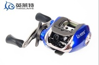 YLT100 bait casting reel 10+1BB,Gear Ratio 6.3:1,Line Capacity 0.28/120 0.3/100,magnet brake sea rock rod lure fishing reel