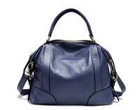 High Quality Snakeskin Genuine Leather Handbag Fashion Women Shoulder Bag Ladies Tote Bags Free Shipping 1328