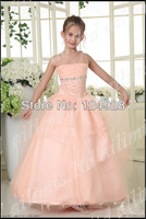 2014 New Backless Scoop Ball Gown Puffy Ruffle White Ivory Short Beach Wedding Dress Lace Size 2 4 6 8 10 12 14