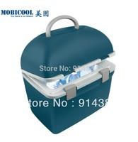 MOBICOOL German T20 car refrigerator dual mini refrigerator 20l portable