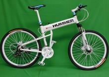 "26""x18"" inch aluminium hummer folding mountain bicycle,21 speed, disc brakes tall man folding bicycle bike(China (Mainland))"