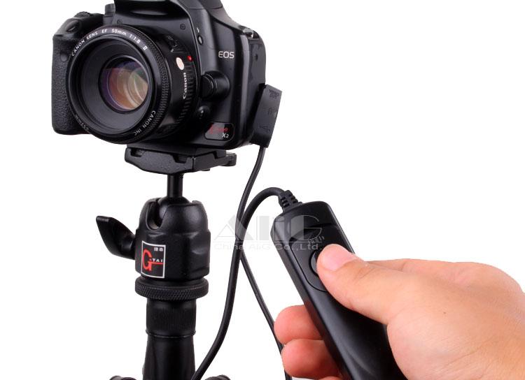 Camera Remote Control Shutter Release Switch RS-60 E3 for 60D 70D 550D 600D 650D 750D G16 G1X Mark II SX50 SX60 HS [No Tracking](China (Mainland))