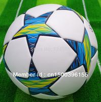 Free shipping soccer ball/football,TPU material,420g/pcs,free with ball pump+net bag+2pcs needle.Shipped randomly