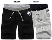 Free shipping 2013 summer men's sports shorts 100% Cotton casual beach shorts 678-K022-20