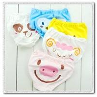 2014 Ajiduo Bermudas Regular Girls Fashion Baby 100% Cotton Cartoon Bread Pants Infant Panties Cute Shorts Child Briefs 87136
