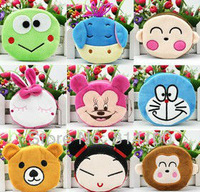 brand new Creative cartoon animals wholesale coin wallet with lining handbag change purse  kids gift coin purses