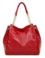 Free/drop shipping PU 2013 fashion shoulder bags  women handbag and totes bags, LX-95