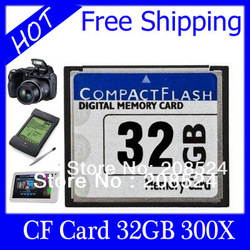 Free shipping CF CARD 32GB 16GB 8GB COMPACT FLASH card, CF card 32GB 60M/S COMPACT FLASH CARD 300X UDMA ,for CNC machine tools(China (Mainland))