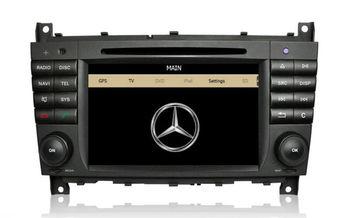 Car DVD Player  for Mercedes Benz W203 C class CLK  w209 with GPS Navigation Radio Bluetooth TV  USB AUX