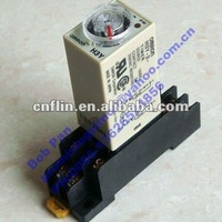 20pc/lot H3Y-2 timer time relay with socket 220VAC