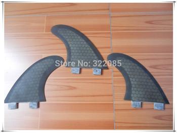 G5 black  honey comb  surfboard fin