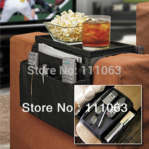 Free Shipping 6 Pocket Sofa, Couch, Arm Rest Sofa Organizer+Remote Control Holder As Seen On TV(China (Mainland))