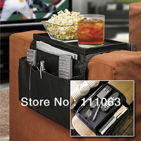 Free Shipping 6 Pocket Sofa holder Couch, Arm Rest Sofa Organizer+Remote Control Holder As Seen On TV