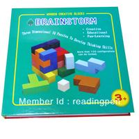 Wooden bricks toy