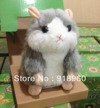 2013 Hot Sale Lovely mimic talking pet Hamster/Talking Plush Toy Talking Animal/Children's kid's Gift Present/Without retail box