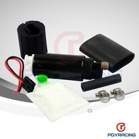 PQY STORE-Black or Slivery High performance Fuel Pump for  Walbro GSS342 (255LPH) fuel pump for directly sale