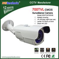 700TVL IR Day and Night Security Weatherproof Surveillance Outdoor CCTV Camera with Axis Bracket CMOS sensor