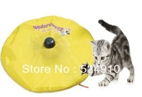 Free shipping As Seen on TV with retail box undercover mouse / Cat`s Meow electronic cat toy cat training tool