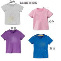 children  summer tops Boys short sleeev tshirt  80 90100 110 120CM have size chart