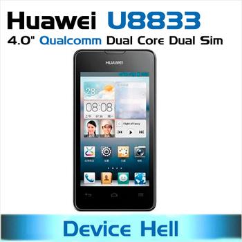 In stock  free shipping original huawei ascend y300 phone huawei u8833 Dual Core dual sim android smartphone WCDMA 900/2100MHz
