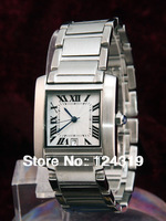 Luxury Men Quartz Tank Francaise Watch Stainless steel Men's Wrist Watches CA088