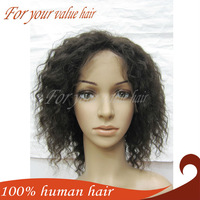 Reina Hair 8-28''Curly Full Lace Wig Human Hair Extension,1b For Your Value Hair With High Quality Factory Whole-sales Price